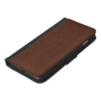 Trä iPhone 6/6s Plus Plånboksfodral