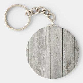 trä rund nyckelring
