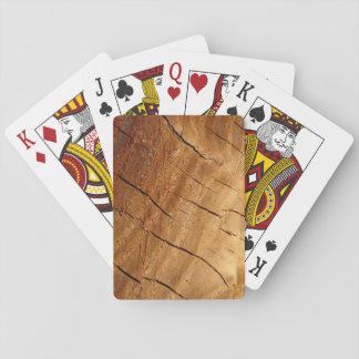 Trä som leker kort casinokort