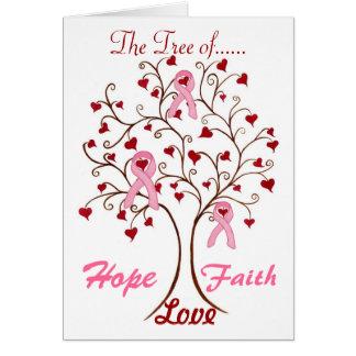 Träd av hopp, kärlek & tro - kort