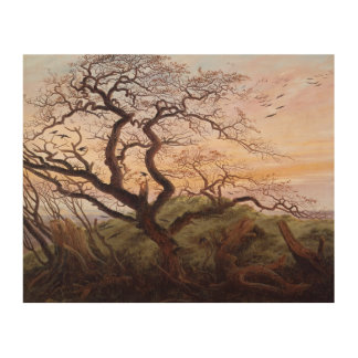 Träd av kråkor, 1822 2 trätavla