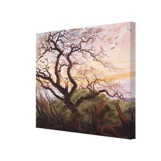 Träd av kråkor, 1822 canvastryck