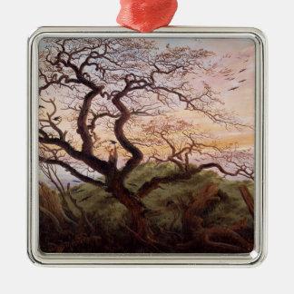 Träd av kråkor, 1822 julgransprydnad metall