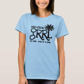 träd för carolina grrlpalmetto t-shirt