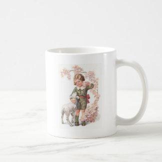 Träd för körsbär för VictorianbarnLamb Kaffemugg