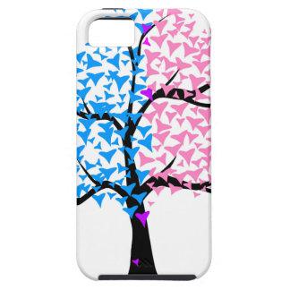 Träd för pojkeflickahjärtor iPhone 5 Case-Mate fodral