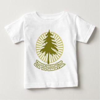 Träd gör luftspädbarnT-tröja T Shirts