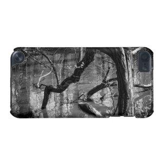 Träd i vatten, den mörka fasan fotograferar, iPod touch 5G fodral