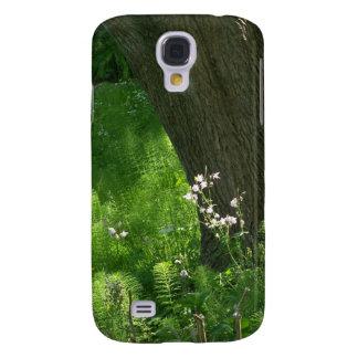 Träd med Ferns Galaxy S4 Fodral