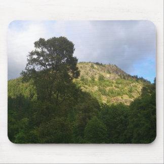 Träd och berg musmatta