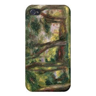 Träd (olja på kanfas) iPhone 4 cases