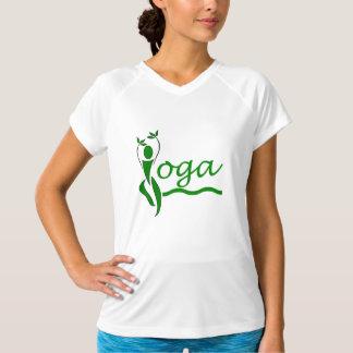 Träd poserar - att bekläda för Yogagenomkörare T Shirts