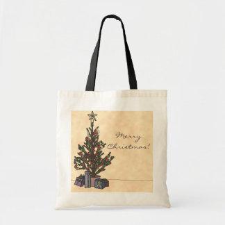 Träd shopping bag budget tygkasse