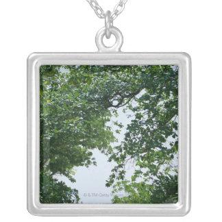 Träd Silverpläterat Halsband