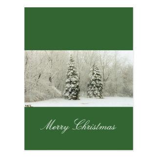 träd vykort