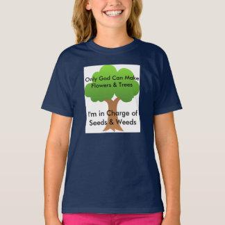 Trädfrö & ogräs som arbeta i trädgården skjortan tröjor