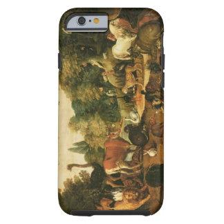 Trädgård av Eden (olja på kanfas) Tough iPhone 6 Fodral