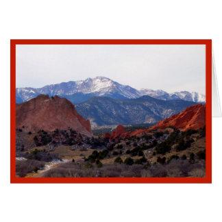 Trädgård av gudarna (Colorado) OBS Kort