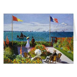 Trädgård på Sainte-Adresse, Claude Monet 1867 OBS Kort