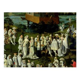 Trädgården av kärlek på den domstolen av Philip Vykort