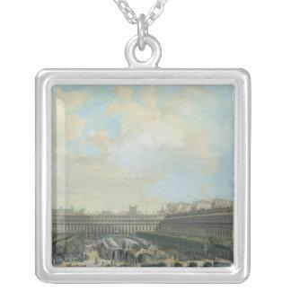 Trädgården av Palaiset Royal, 1791 Silverpläterat Halsband
