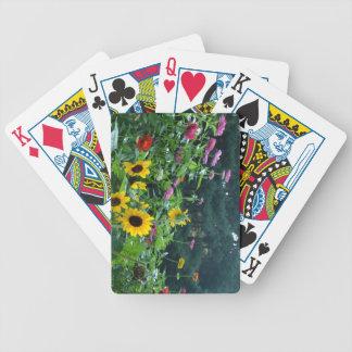 Trädgården beskådar spelkort