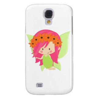 Trädgårds- Fegrönt och rosor Galaxy S4 Fodral