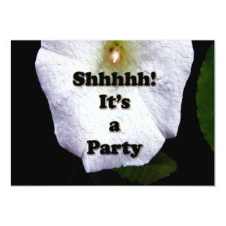 Trädgårds- inbjudan för partyöverrrakningparty