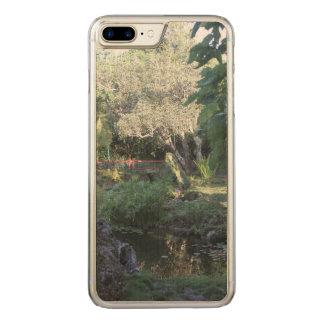 Trädgårds- iphone case för japan carved iPhone 7 plus skal