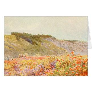 Trädgårds- konst för vintage - Stormont, Howard Hälsningskort