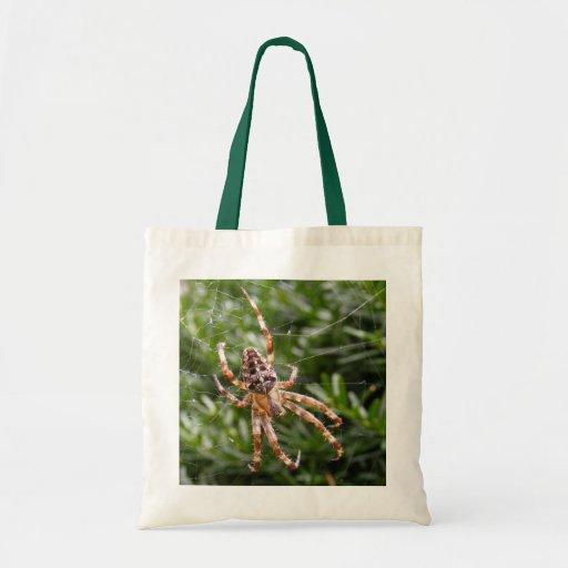 Trädgårds- spindel~ hänger lös kassar