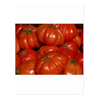 Trädgårds- tomat för Heirloom Vykort