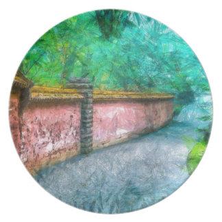 Trädgårds- väggAcadia för asiat Dinner Plate
