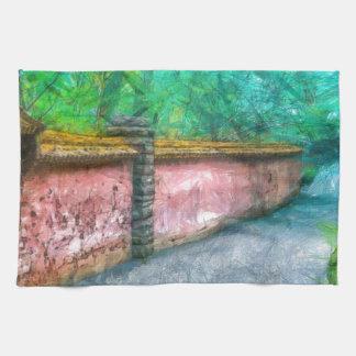 Trädgårds- väggAcadia för asiat Kökshandduk