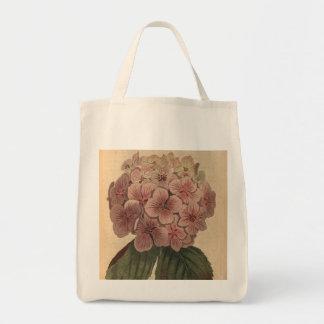 Trädgårds- vanlig hortensia mat tygkasse
