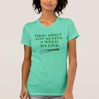 Trädgårdsmästare T-tröja, kvinna mintgrönt Tröjor