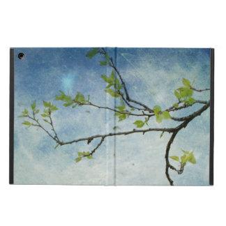 Trädgren över texturerad himmel iPad air skydd