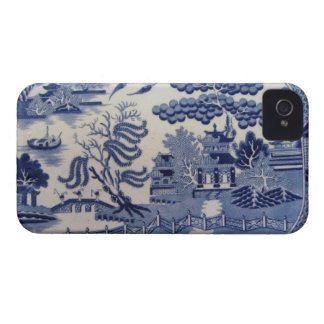 Traditionell 19th china iphone4 för iPhone 4 Case-Mate fodraler