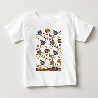 Traditionell Albemarle Jacobean broderi Tee Shirt