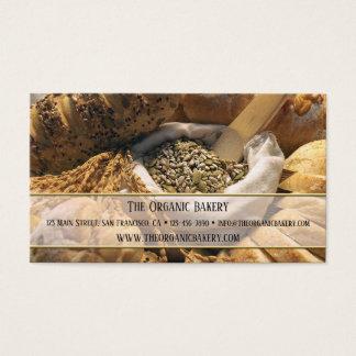 Traditionell brödbagerivisitkort visitkort