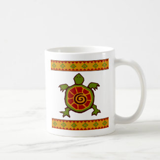 traditionell gräns swirly turtle.ai kaffemugg