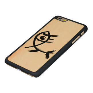 Traditionell hieroglyphic häst carved® maple iPhone 6 plus skal