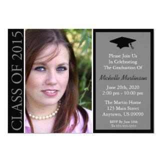 Traditionellt klassificera av studenten 2015 inbjudningskort
