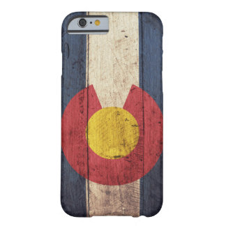 Träfodral för Colorado flaggaiPhone 6 Barely There iPhone 6 Skal