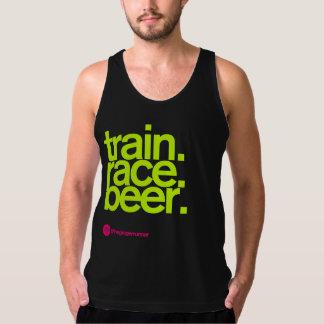 TRAIN.RACE.BEER. Aa-tanktop Tanktop