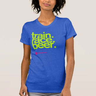 TRAIN.RACE.BEER. Kvinna tanktop