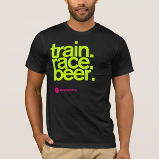 TRAIN.RACE.BEER. T-tröja T Shirts