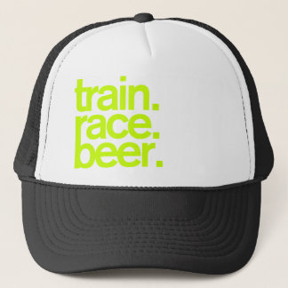 TRAIN.RACE.BEER. Truckerkeps