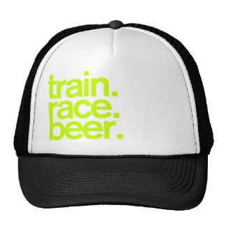 TRAIN.RACE.BEER. Truckerkeps Keps