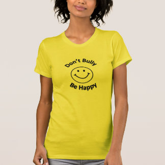 Trakassera inte är lyckligt tröjor